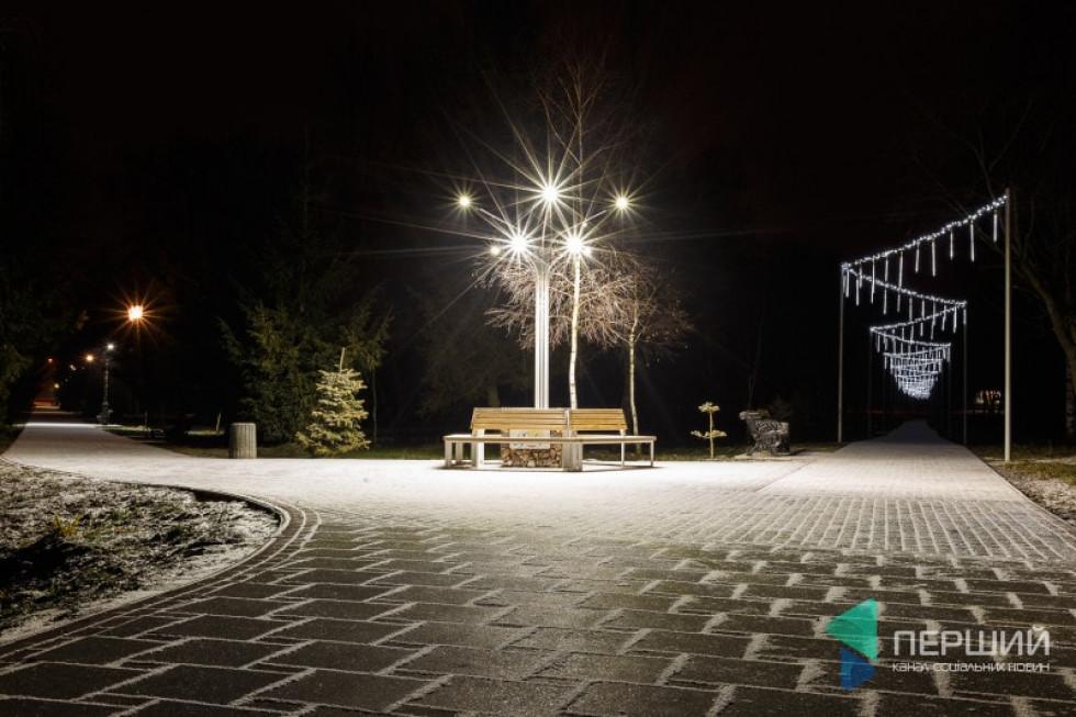 Алеї в Центральному парку культури та відпочинку ім. Лесі Українки у Луцьку