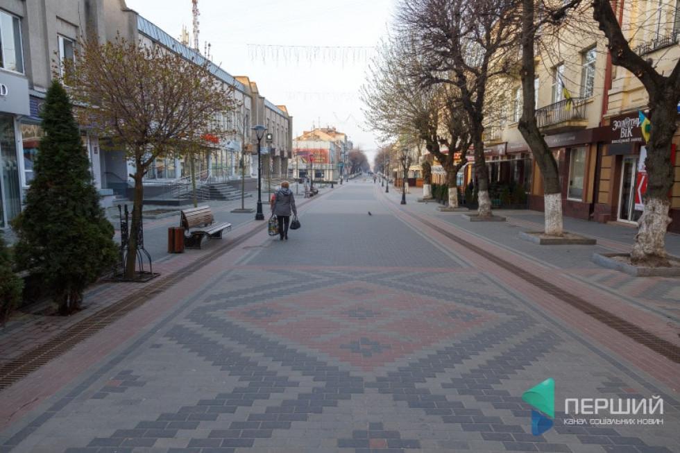 Вулиця Лесі Українки у Луцьку після реконструкції, 2016 рік