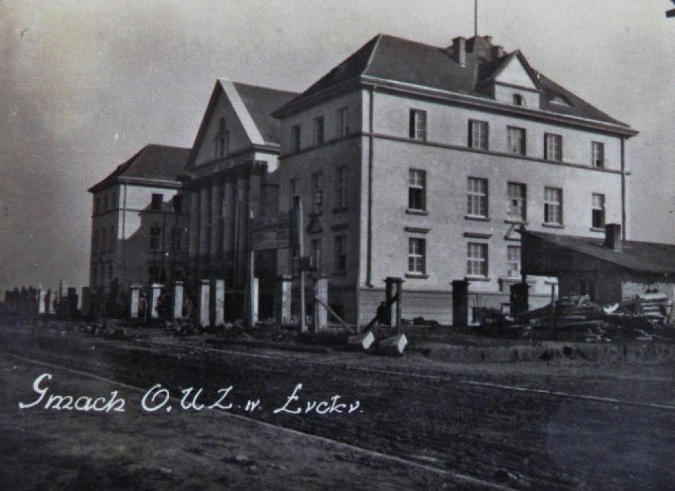 Творіння Казимира Яніцького – Окружне земельне управління, нині – Волинський краєзнавчий музей