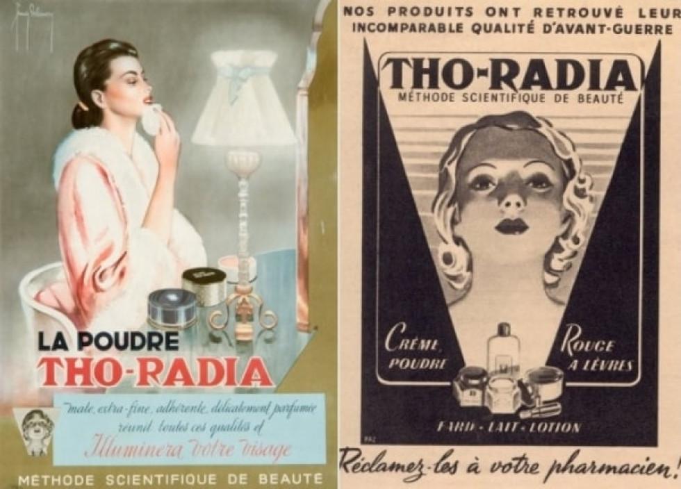 Радіоактивна косметика бренду «Tho-Radia»