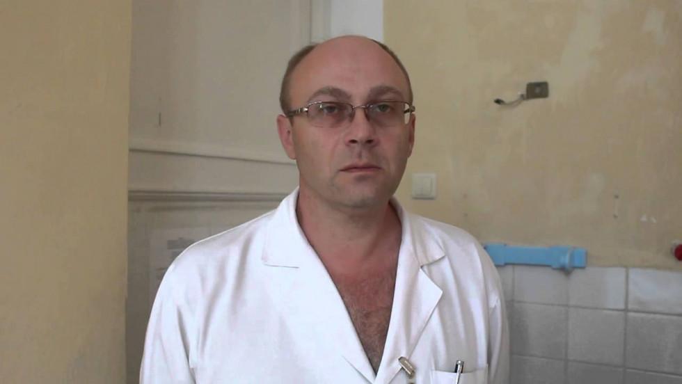 Керівник інфекційної лікарні Руслан Морочковський