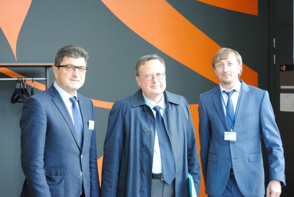 Фото на згадку з президентом Європейського суду з прав людини