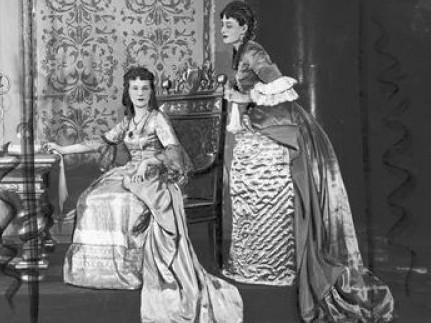 Красуня Ядвіга грала у луцькому театрі