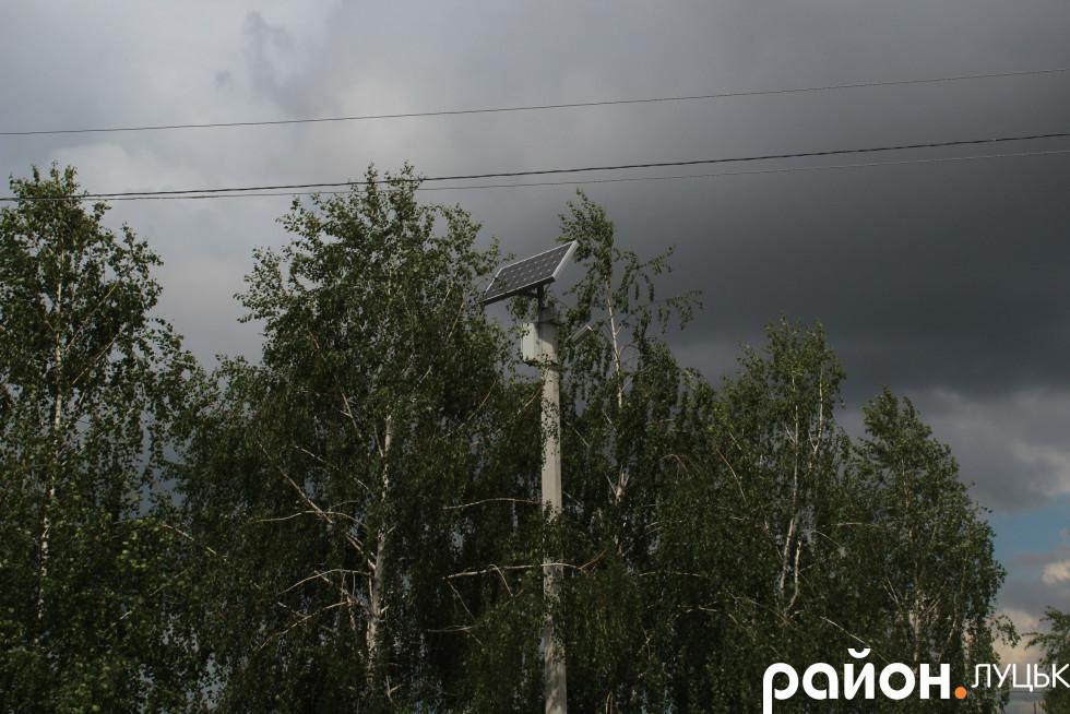 Погода була несприятлива для роботи сонячних панелей