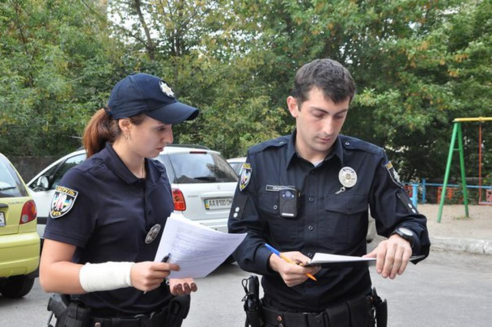 Патрульні повинні скласти протокол на відповідальну посадову особу