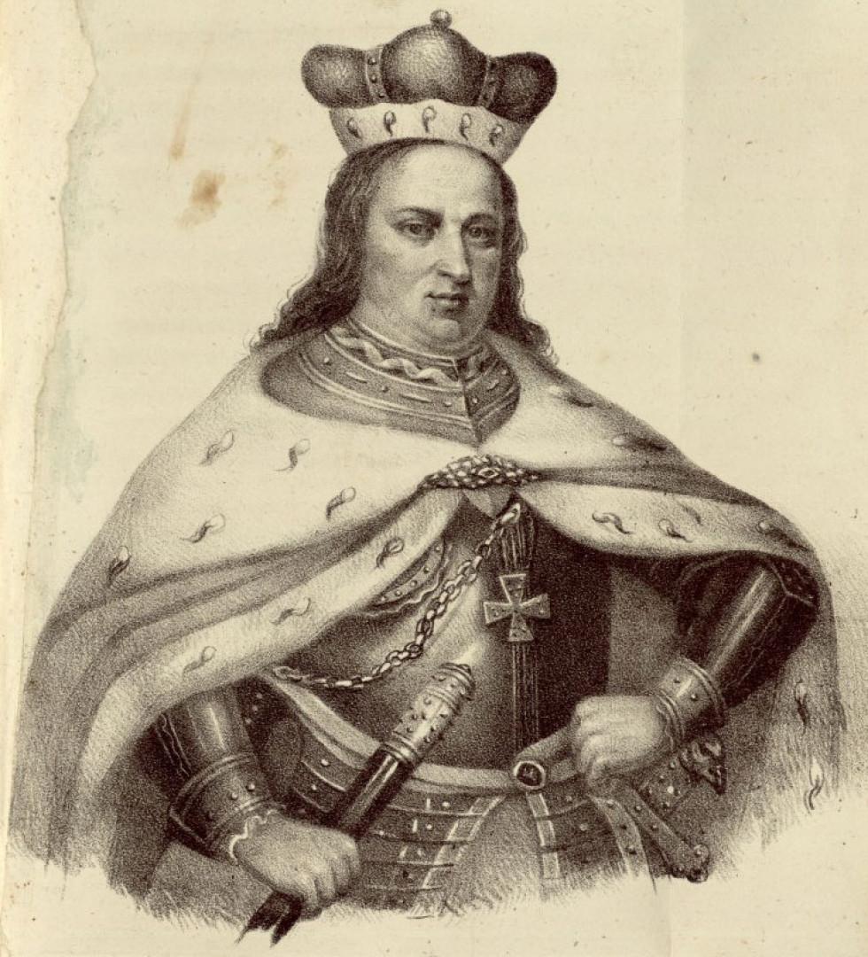 Князь Вітовт, зображення 1836 року