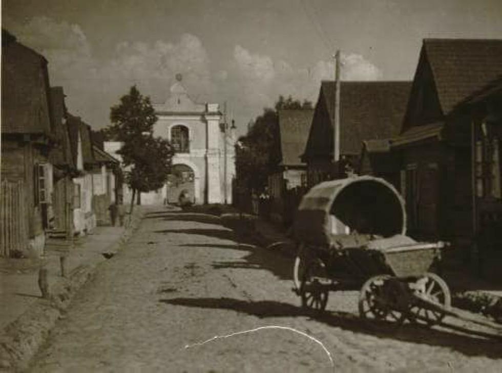 Костел в с. Несвіч, 1930-ті роки.