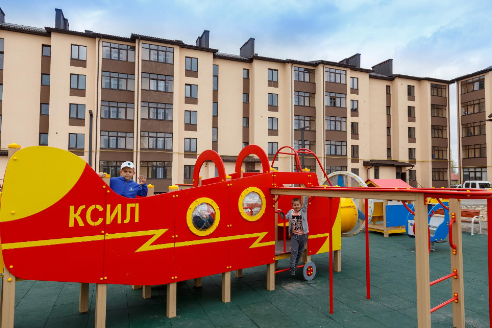 Дитячий майданчик у Парковому кварталі