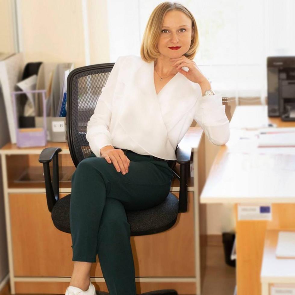 Ініціаторка і керівниця проекту Олена Кравчук