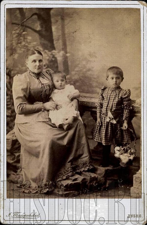 Дубно, фотосалон «Таборовський», поч. ХХ ст.