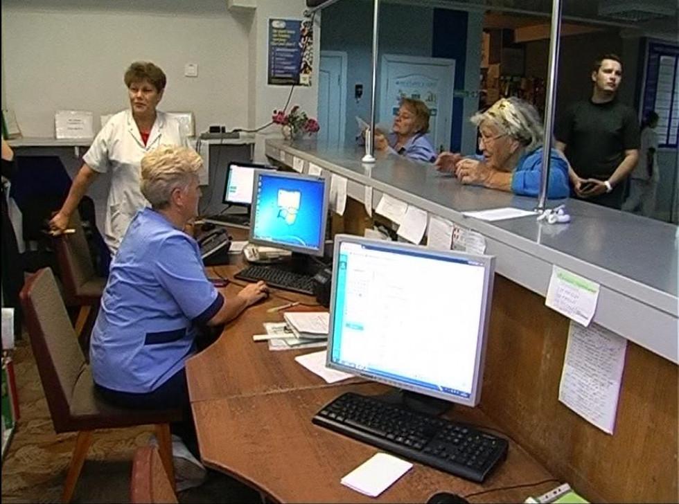 Реєстратура в лікарні на Волі
