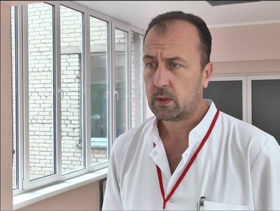 Завідувач Волинського обласного опікового центру, лікар-комбустіолог Роман Трач