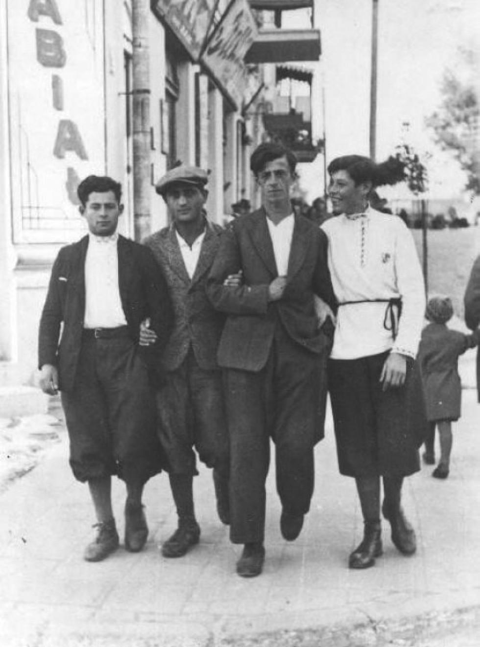 На вулицях Луцька, 1920-ті роки