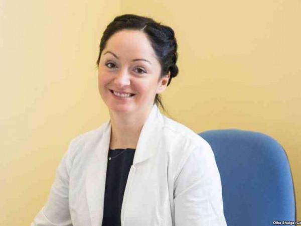 Завідувач відділення неврології Волинської обласної клінічної лікарні Ольга Шульга