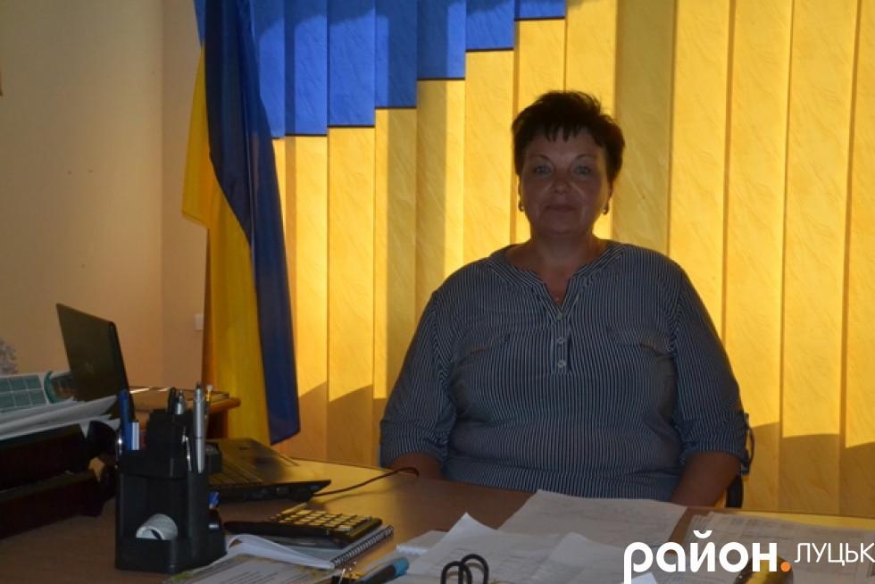 в кабінеті очільниці Городищенської громади