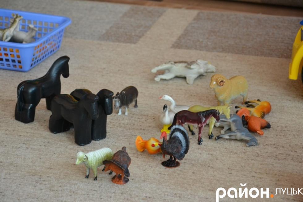 Іграшки в садочку