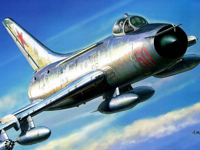 Літак Су-7Б/БКЛ. Фото ілюстративне