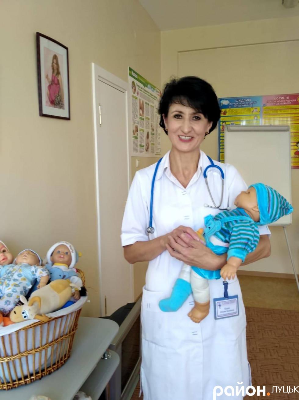 Заступниця головного лікаря з неонатології Луцького клінічного пологового будинку Олена Курак