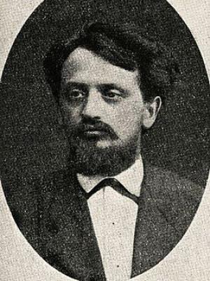 Едвард Гораздовський, фото 1901 р.