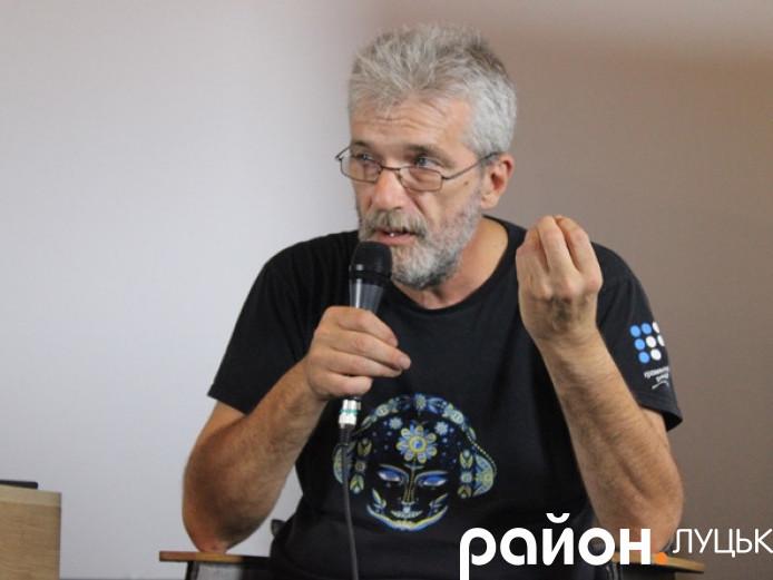 Андрій Куликов у Луцьку