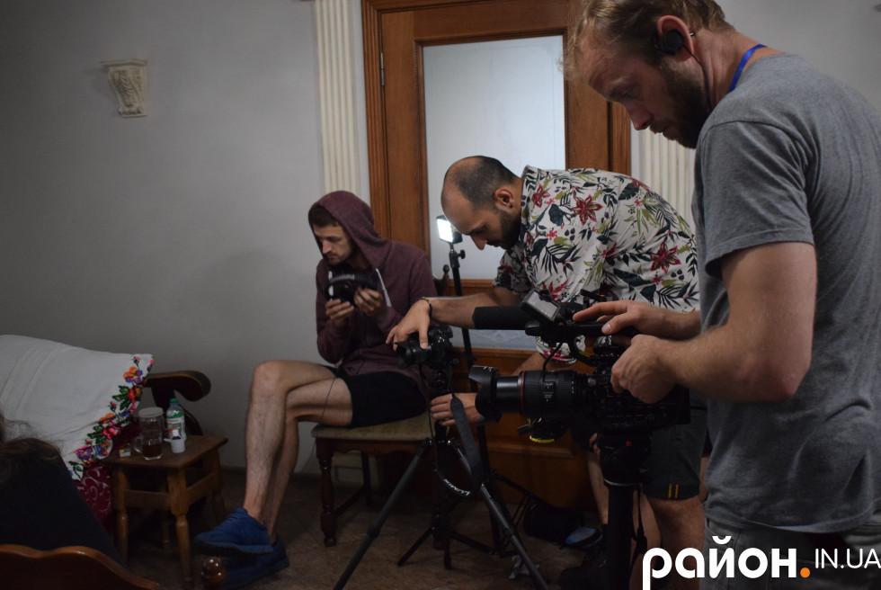Знімальна група проекту