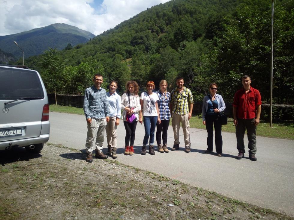 Команда перед початком мандрівки