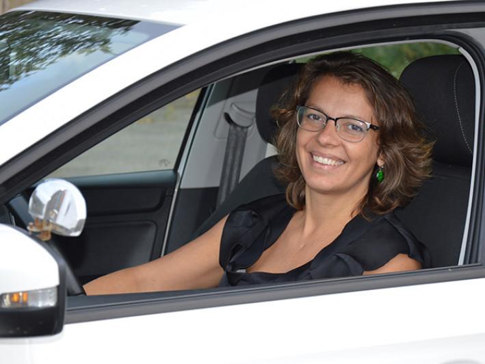 Автоінструкторка, засновниця ГО «Я-водійка» Тетяна Могилецька