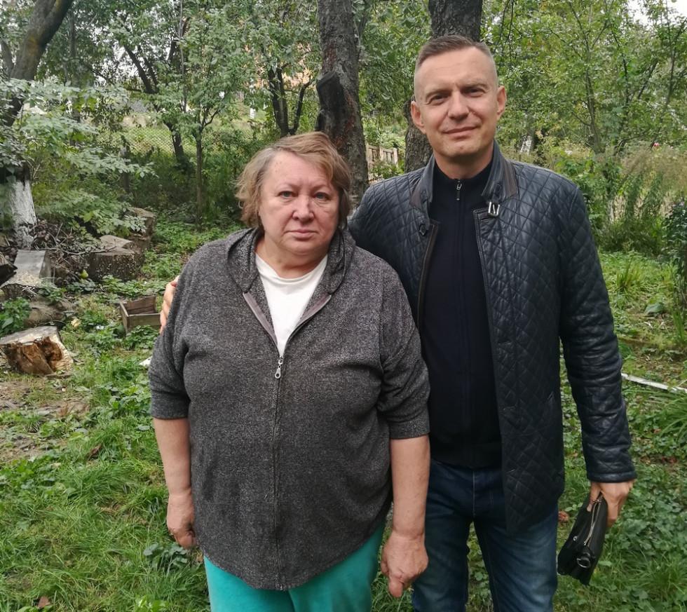 Маргарита Нарольська та Дмитро Глазунов