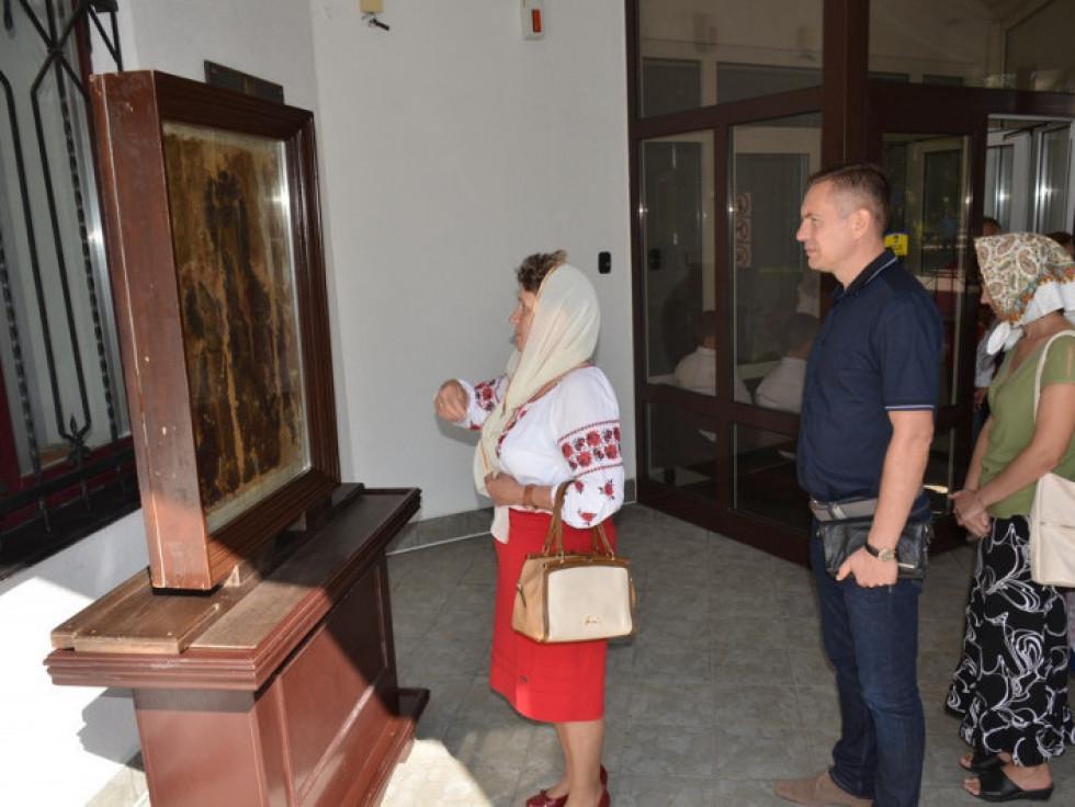 У музеї Волинської ікони
