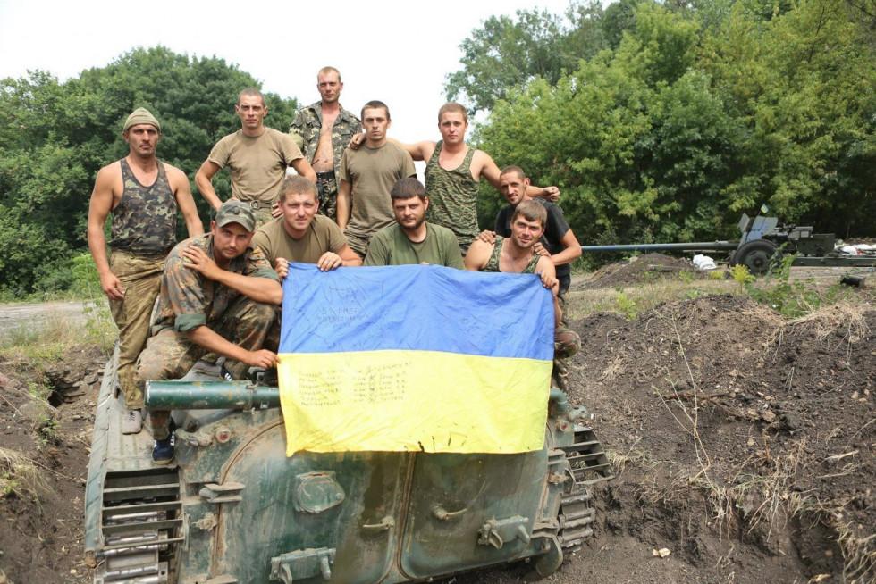 Бійці 51-ї бригади під Іловайськом