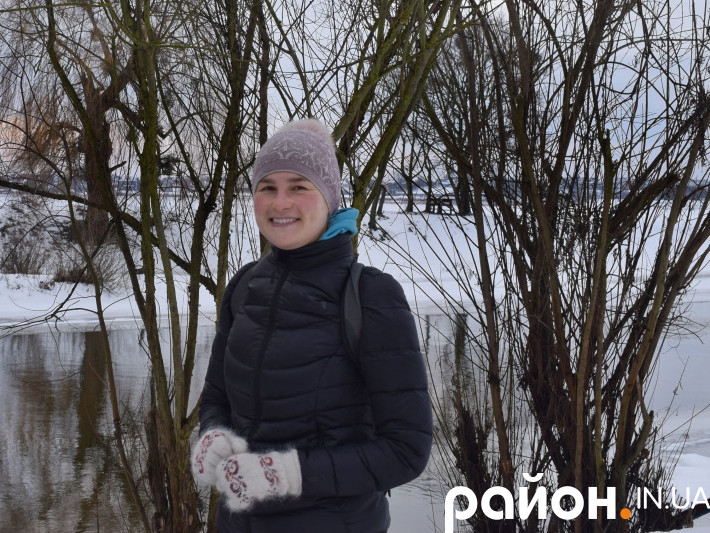 Катерина Макарук моржує вже дев'ять років
