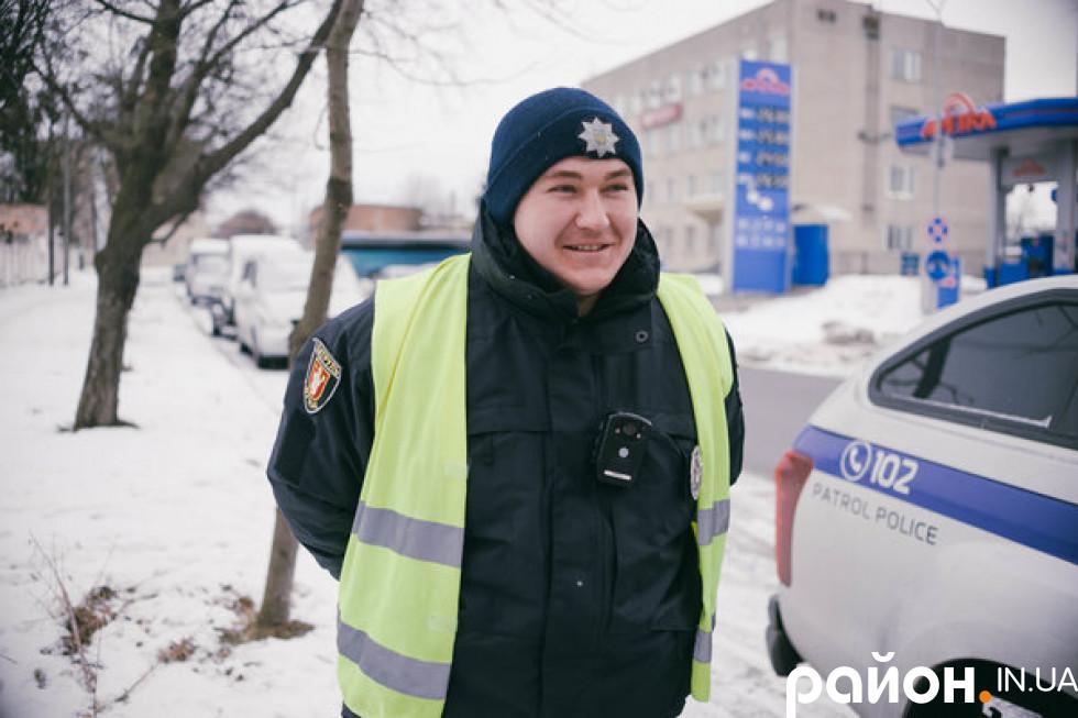 Олесь Мороз мріє працювати в поліції з дитинства