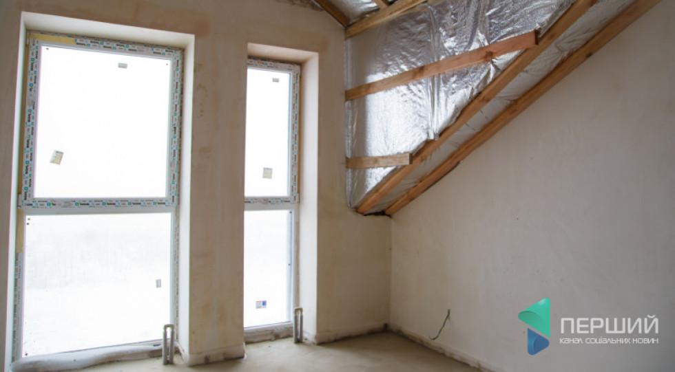 Панорамні вікна на кухні