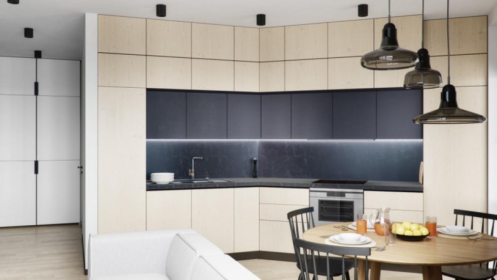 Меблі під стелю –ідеальне рішення для кухні.Джерело фото:www.djournal.com.ua