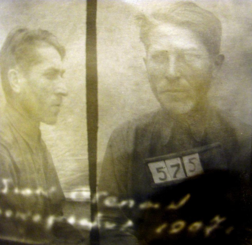 Арештантські фотоКостюка Антона та батька Костюка Степана