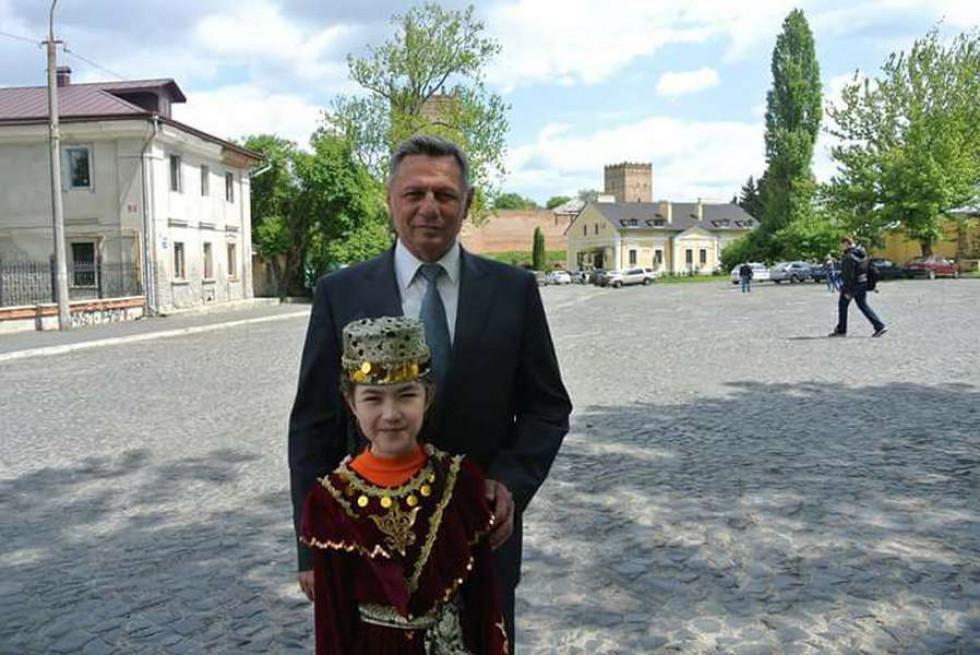 Султаніє Зейнідінова з Миколою Романюком