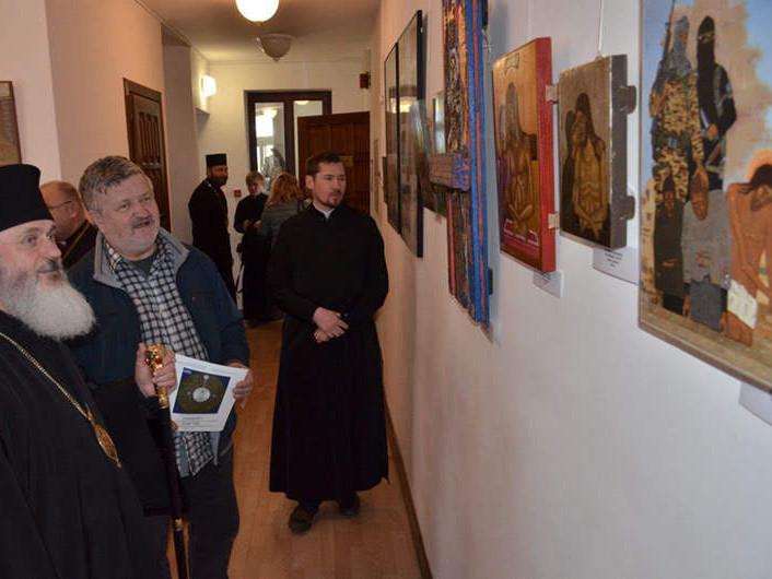 Відкриття міжнародної виставки ікон і сакрального мистецтва в Луцьку