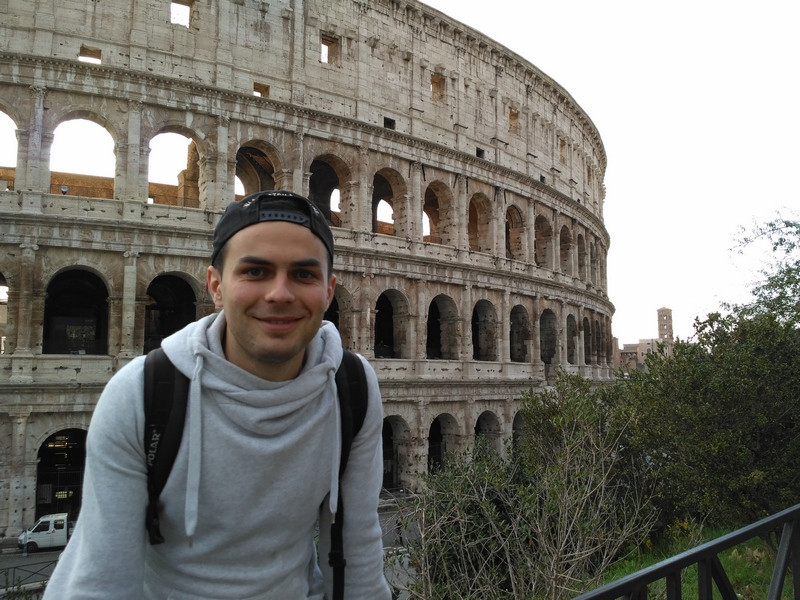 Андрій Приймачук у Римі