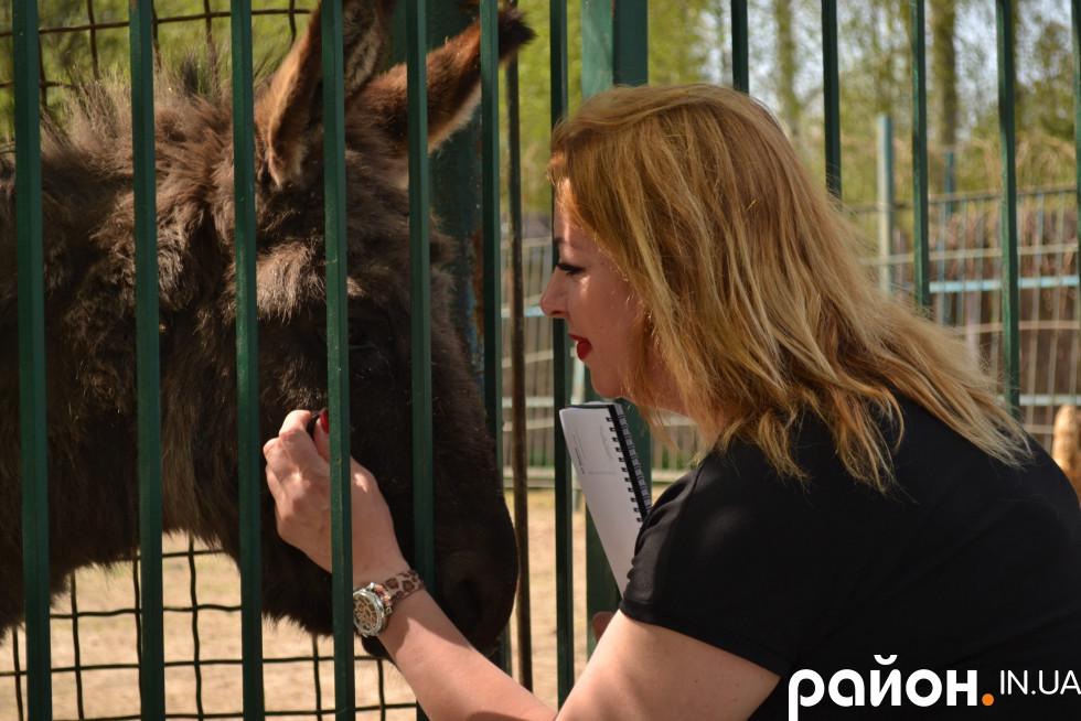 Для тварин, на думку Людмили Денисенко, важлива велика територія