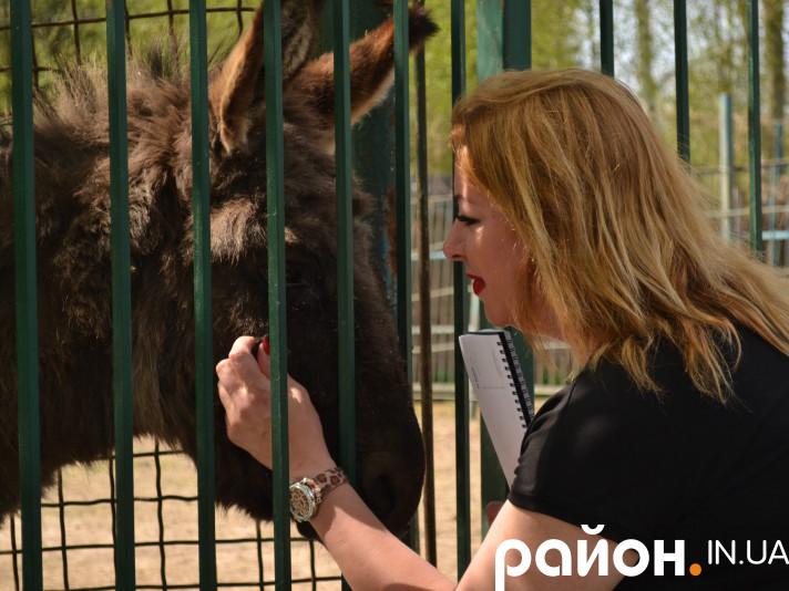 Директорка «Луцького зоопарку» Людмила Денисенко
