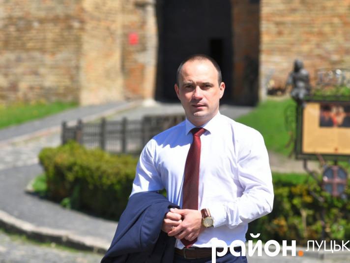 Директор Волинського обласного центру зайнятості Роман Романюк