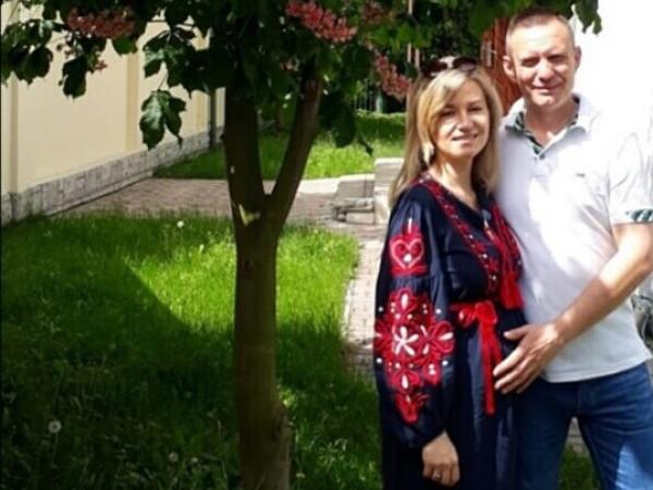 Дмитро Глазунов з дружиною Інною