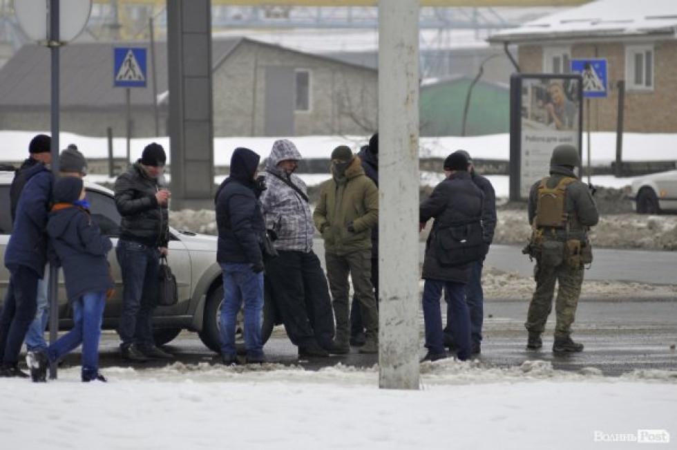 Фото із затримання контррозвідника СБУ