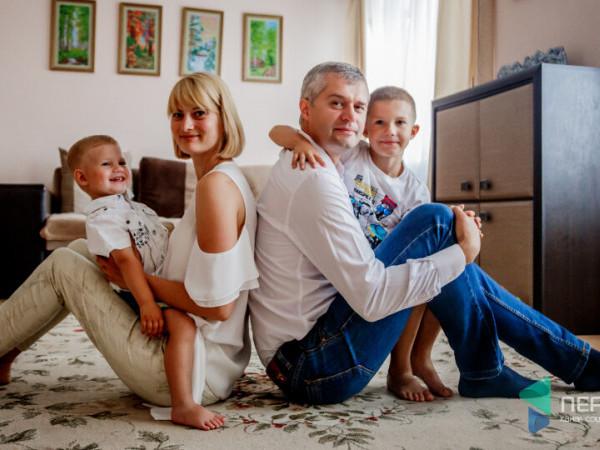 В'ячеслав Рубльов з сім'єю