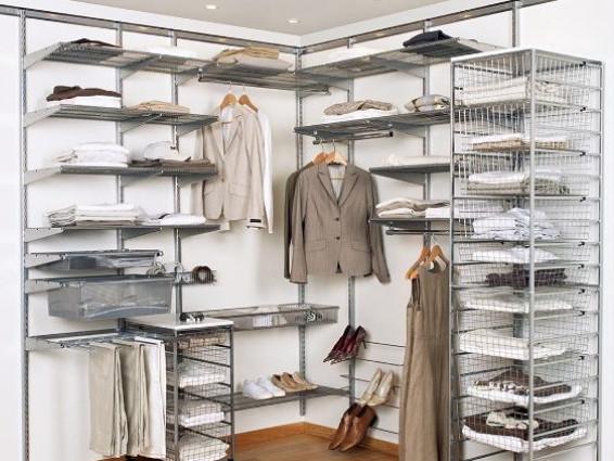 Сітчаста гардеробна система