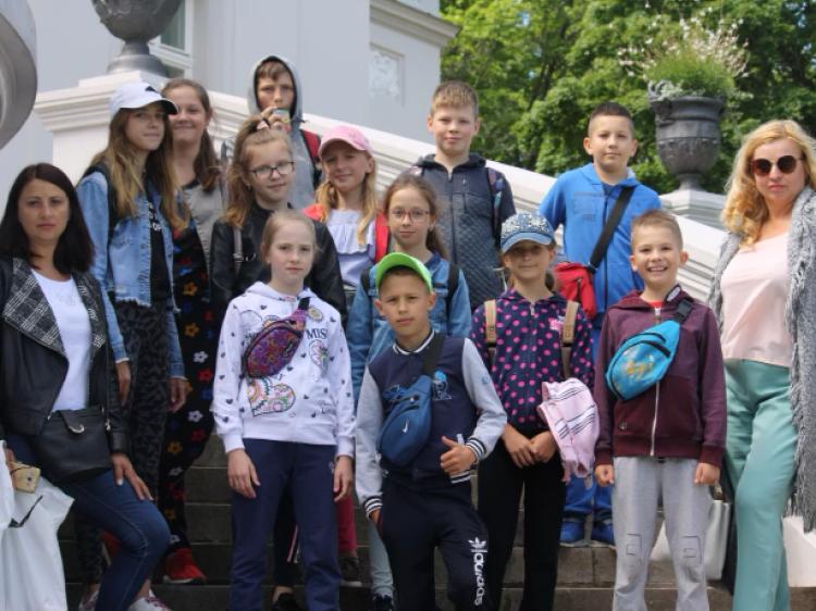 Як діти учасників АТО з Луцька відпочивали в Литві
