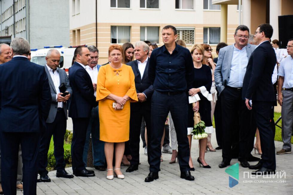 Ігор Чорнуха на відкритті перинатального центру в Луцьку