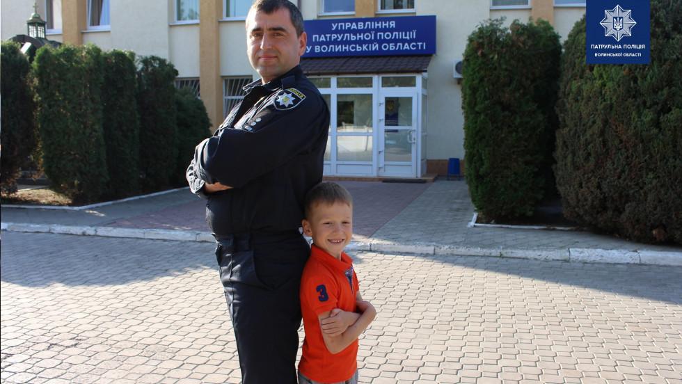 Андрій Мазяр з сином