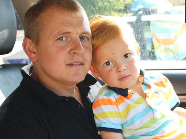 Тарас Вілівчук з сином