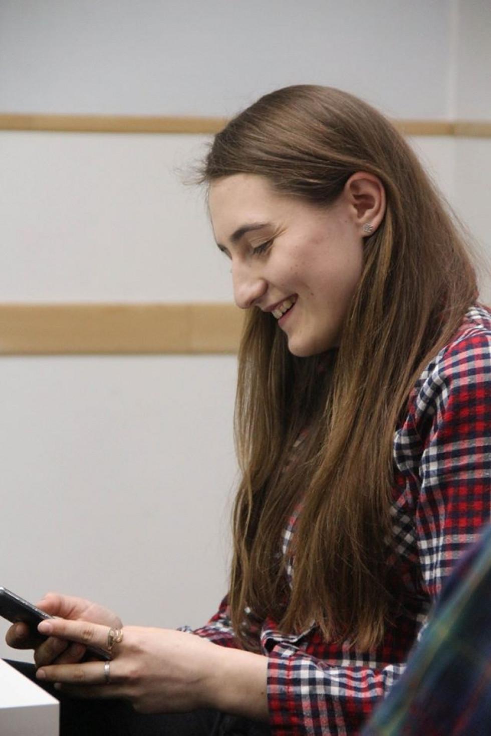 Тетяна Максимук, організаторка «Книгонутих» (фото Молодіжного центру Волині)